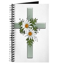 Green Cross w/Daisies 2 Journal
