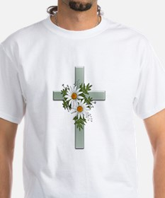 Green Cross w/Daisies 2 Shirt