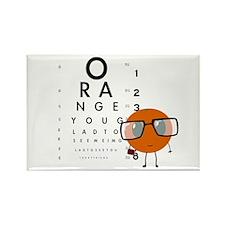 Orange You Glad Rectangle Magnet
