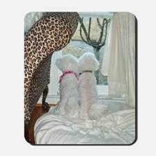 SASHA-AND-SOPHIE-GREETING CARD II copy Mousepad