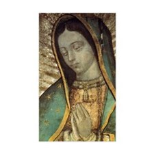 Our Lady of Guadalupe - close  Decal