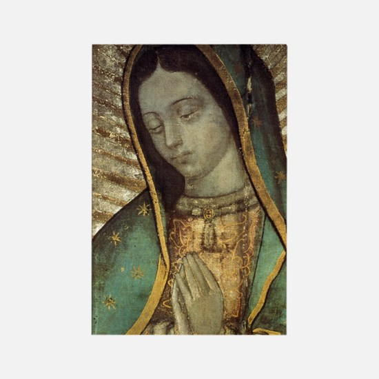 Our Lady of Guadalupe - close up  Rectangle Magnet