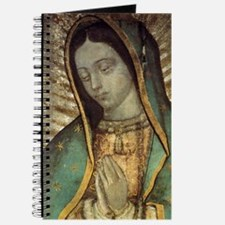 Our Lady of Guadalupe - close up Greeting  Journal