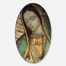 Our Lady of Guadalupe - close up Gr Decal