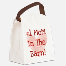 #1 MoM in the Barn Canvas Lunch Bag