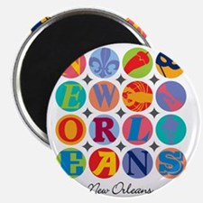 New Orleans Themes Magnet