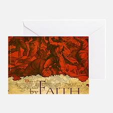 Mousepad_ByFaith_David Greeting Card