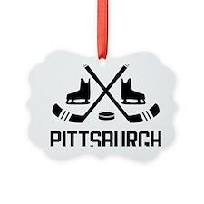 Pittsburgh Hockey Ornament