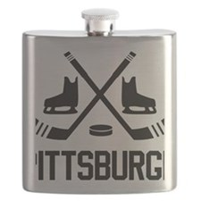 Pittsburgh Hockey Flask