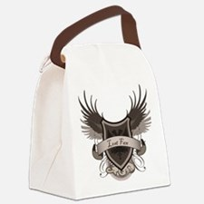 2-Lost-Fan Canvas Lunch Bag