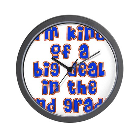 2nd grade Wall Clock