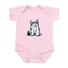 KiniArt Husky Infant Bodysuit