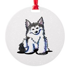 KiniArt Husky Ornament