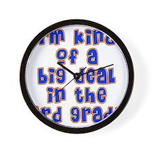 3rd grade Wall Clock