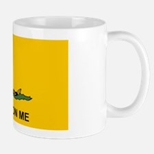2-Flat Dont Tread Flag sticker Mug