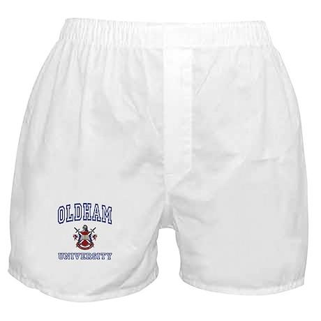 OLDHAM University Boxer Shorts