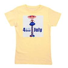 2-first4thofjuly Girl's Tee