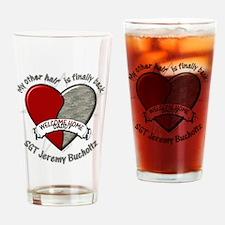 myotherhalfvirginia2 Drinking Glass