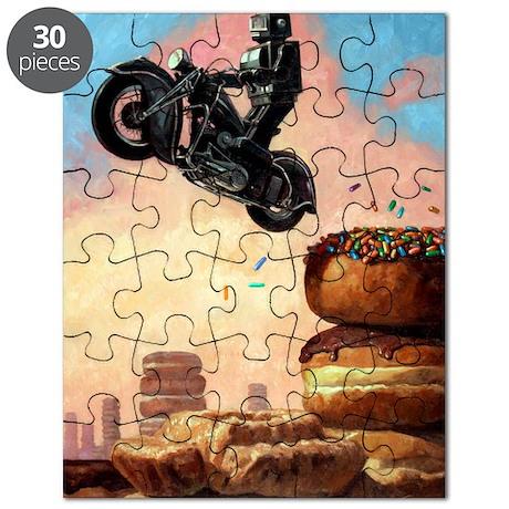 DarkRideragainCard Puzzle