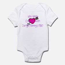 Girl Who needs Chocolate? Infant Bodysuit