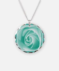 Seafoam_lace_Rose_PILLOW Necklace