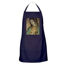 Our Lady of Guadalupe - Large Poster Apron (dark)