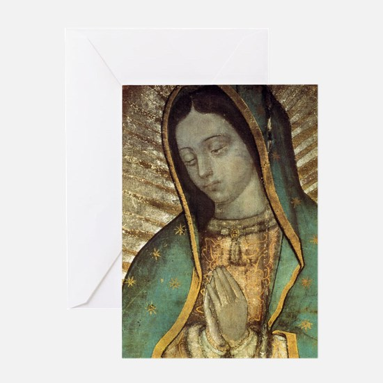 Our Lady of Guadalupe - Large Poster Greeting Card