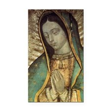 Our Lady of Guadalupe - Large Rectangle Car Magnet