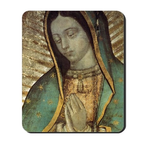 Our Lady of Guadalupe - Large Poster Mousepad
