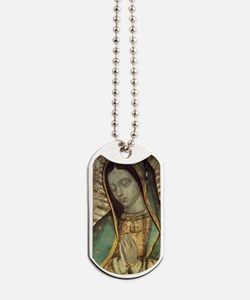 Our Lady of Guadalupe - Large Poster Dog Tags