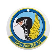 106th_fighter_squadron Round Ornament