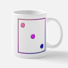 Die 3 (rounded bi colors) Mug
