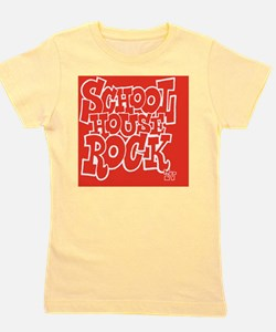 2-SHR_REVERSE_red_button Girl's Tee