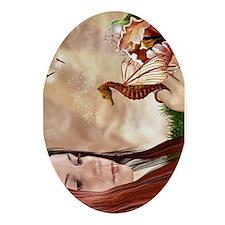 Flavia's Dreamworld Oval Ornament