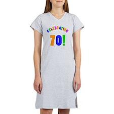 Rainbow 70 Women's Nightshirt