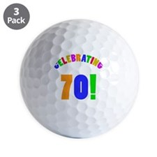 Rainbow 70 Golf Ball