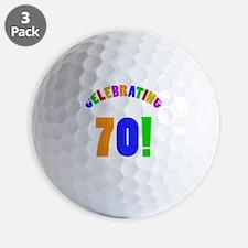 Rainbow 70 Golf Balls