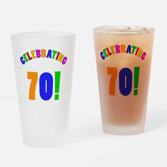 Rainbow 70 Drinking Glass