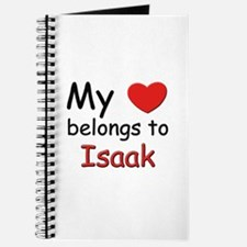 My heart belongs to isaak Journal