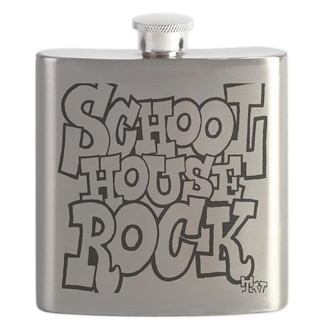 3-schoolhouserock_BW Flask
