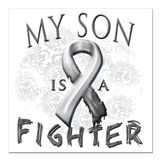 Cancer son Car Magnets