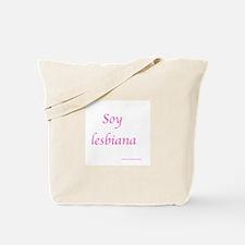 soy lesbiana Tote Bag