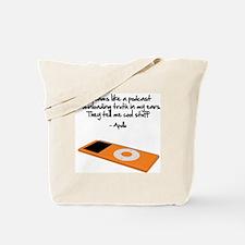 Dreams Like a Podcast Tote Bag