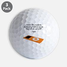 Dreams Like a Podcast Golf Ball