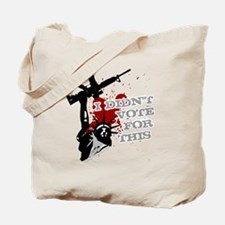 I Didnt Vote For This anti-war protest sh Tote Bag
