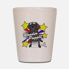 Wonder Puggle Shot Glass