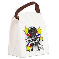 Wonder Puggle Canvas Lunch Bag