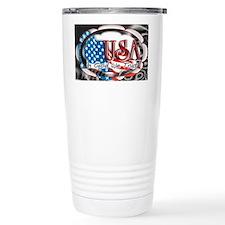 usa in God we trust 002 Travel Mug