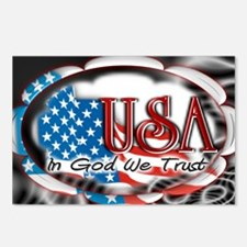 usa in God we trust 002 Postcards (Package of 8)