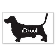 hound.idrool Decal